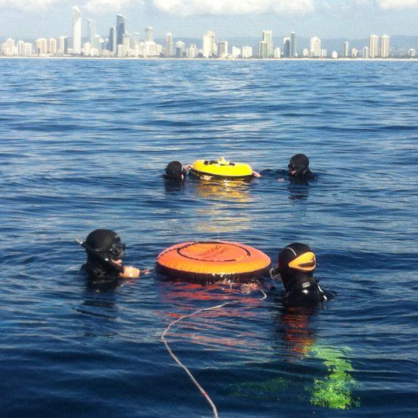 Ocean Freediver course off the Gold Coast