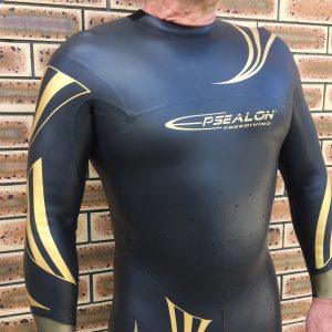 Men's Freediving Training Wetsuit